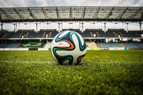 the ball, stadion, football